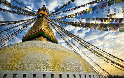 尼泊爾滿願大佛塔