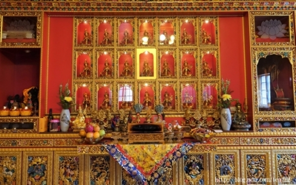 五路財神寺度母殿 直貢寶積林西藏誠蓮曲佩